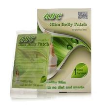 3 коробки поставки) ABC пластырь для похудения живота Магнитный диетический коврик для похудения Быстрый сжигание жира эффективная