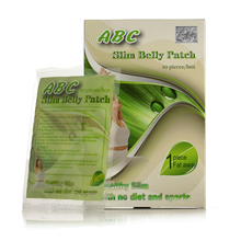 (2 Boxes Supply) ABC slimming belly patch magnetic diet pad lose weight fast burn fat 100% effective free shipping