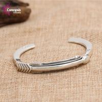 Jewelry Simple Glossy Men S Open Bracelets Cody Bows Popular Bracelet Thai Thai Silver Bangles Women