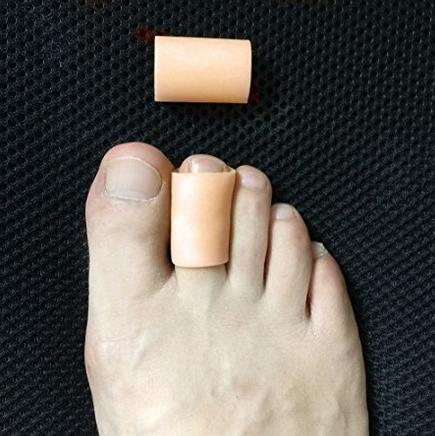 4 Pcs/lot Toe Sleeve To Prevent Corn Callus & Blister-Bunions Sore Corns Hammer Gel Toe Separators Protector Toe Tube