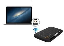 Mini H18 Touch 2 in 1 Wireless Keyboard