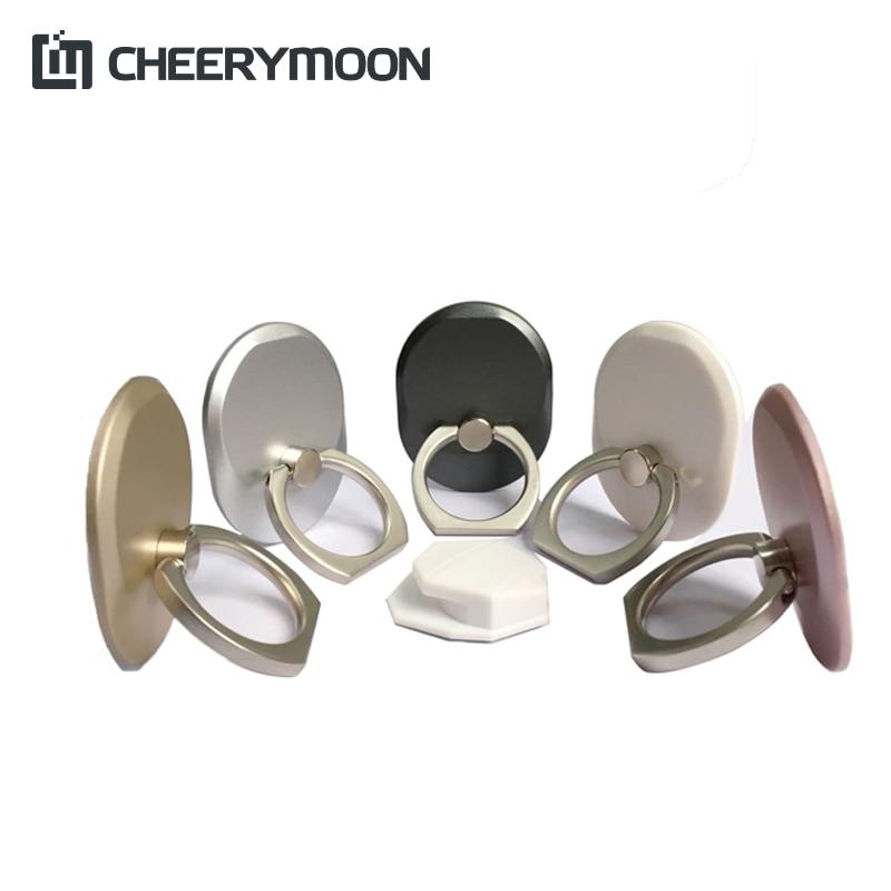 CHEERYMOON Seria Q 6 kolorów Uchwyt Uniwersalny pierścień do - Części i akcesoria do telefonów komórkowych i smartfonów - Zdjęcie 2