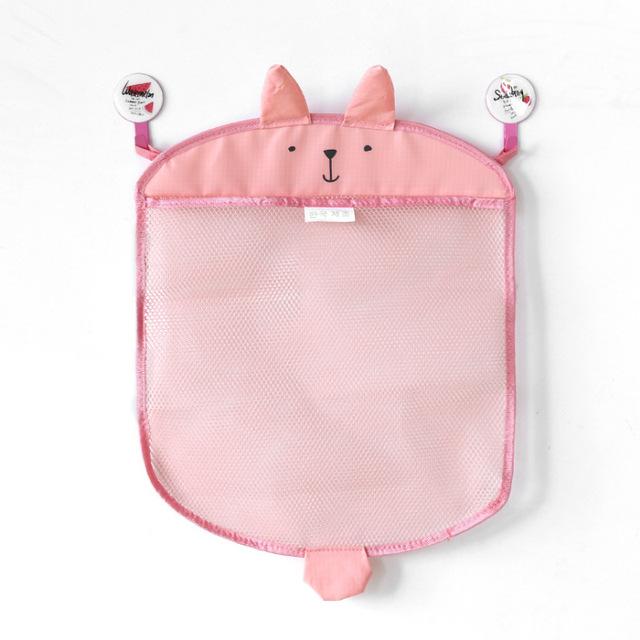 Animal Shaped Hanging Toy Organizer for Bathroom