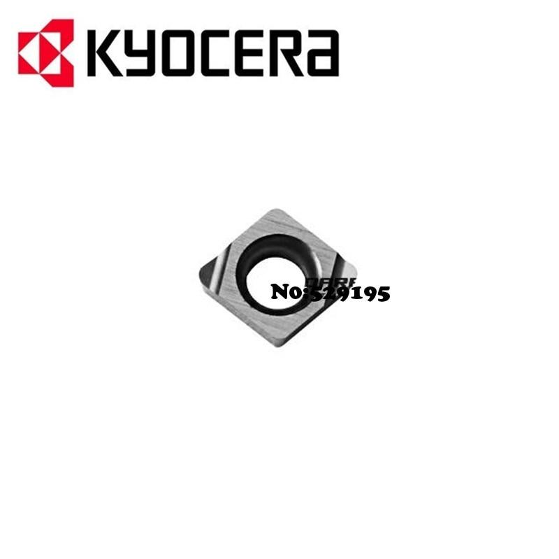CCGT030102L F CCGT030104L F TN60 kyocera Carbide Tip Lathe Insert CCGT 030102 030104 L F use