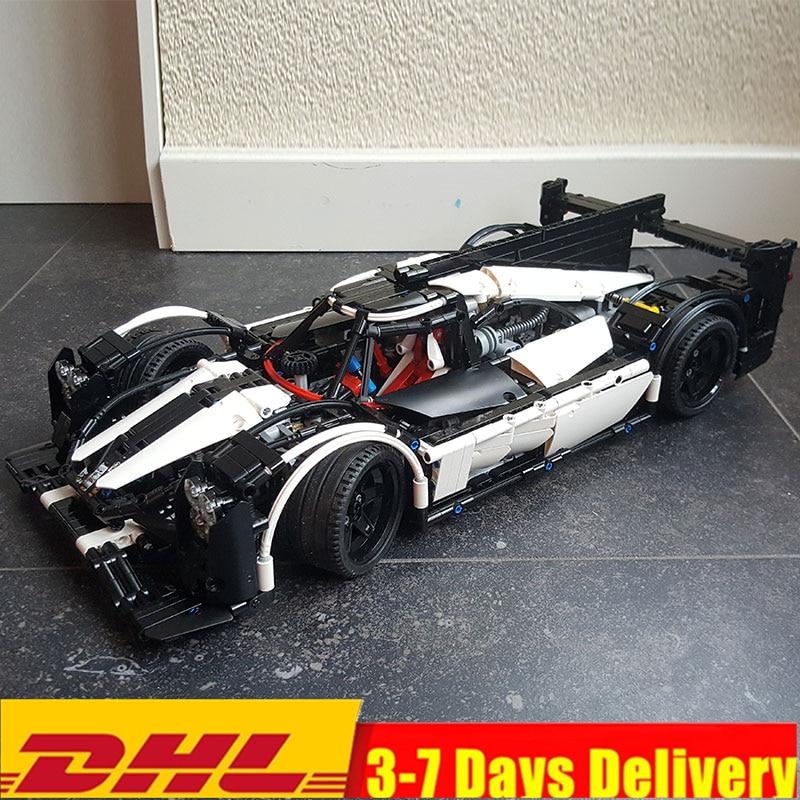 Technic Series MOC Hybrid Super Race Car Champion Marvel Building Blocks Sets Kits Bricks Toys Compatible Legoings 5530 велосипед cube reaction hybrid race 500 29 2018