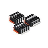 Kompatibel PGI 550 BK SCHWARZ tinte patrone für CANON PIXMA PIXMA MG5450 MG5550 MG5650 MG6350 MG6450 MG6650 drucker|Tintenpatronen|   -