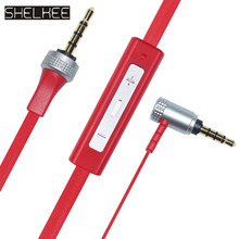 SHELKEE Male to male cable 3.5mm jack Audio Cable line For SONY MDR-X10 MDR-XB920  MDR-XB910 Headphones With Mic