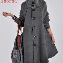 631a5f5e3 Mujer mujeres más tamaño Tops señora invierno de manga larga ropa para las  mujeres embarazadas lana
