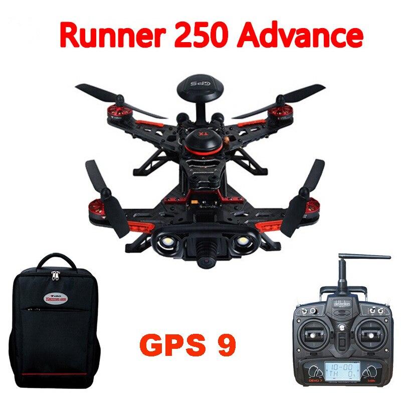 Usado, Walkera Runner 250 avance Runner 250 (r) Racer RC Drone Quadcopter con DEVO 7 / 1080 P segunda mano  Se entrega en toda España