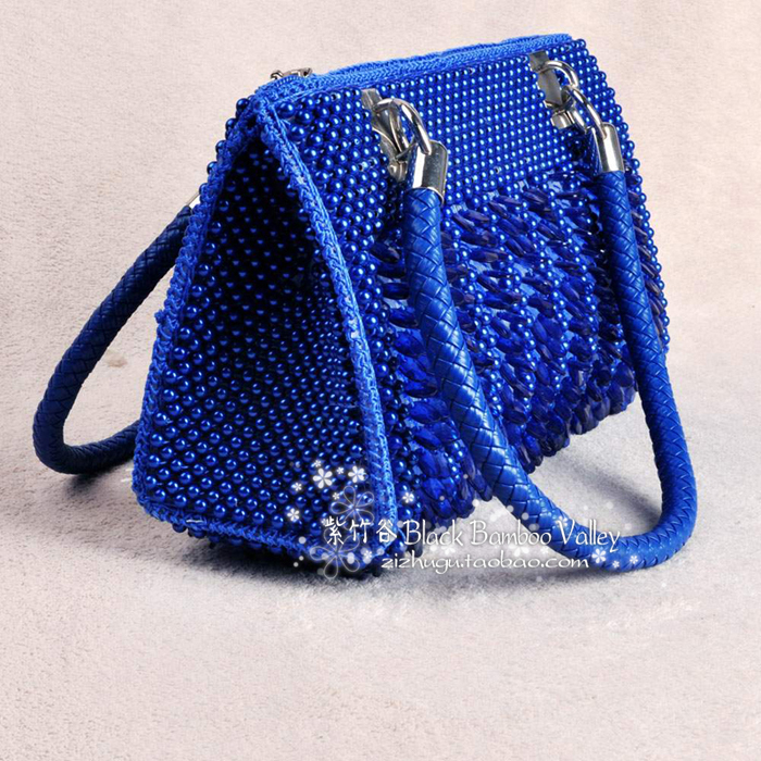 lady bags, beading bags, weave bags, handicraft bags-in Shoulder ...