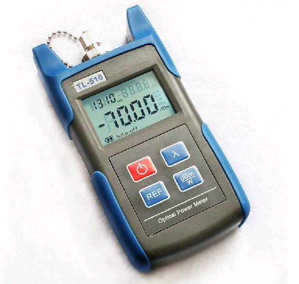 Supply Handheld TL-510 Fiber optic power Meter TL-510 Best price mini power meter Power Meter Cable Tester Digital Free shipping