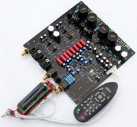 AK4497EQ * 2 + AK4118 Soft Control DAC Decoder Board with LCD Display/Remote Control (No AK4497 Chip and U8 Daughter Card)