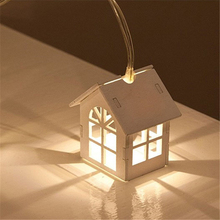 10pcs Christmas Led Tree House