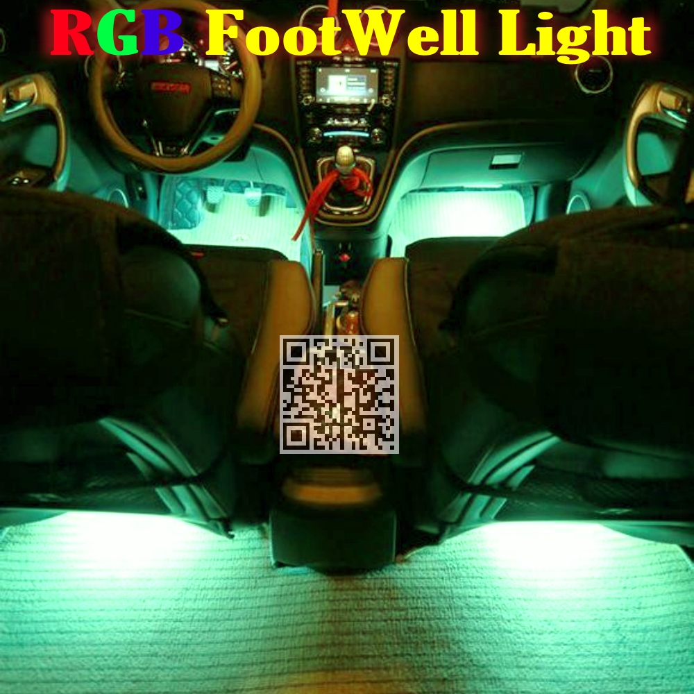 24g wireless control 360 rgb color neon glow interior underdash foot floor seat accent bmw z3 set 2 seats
