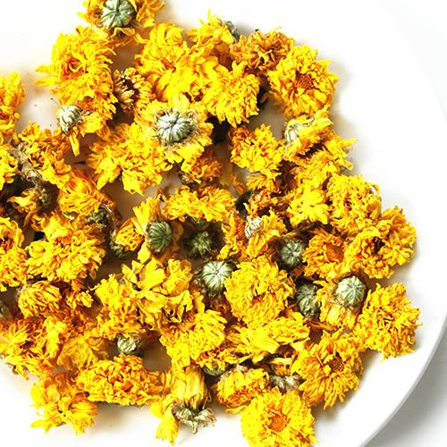 Golden chrysanthemum flower tea chinese yellow mountain organic golden chrysanthemum flower tea chinese yellow mountain organic natural beauty dried loose scented flowering herbs te mightylinksfo