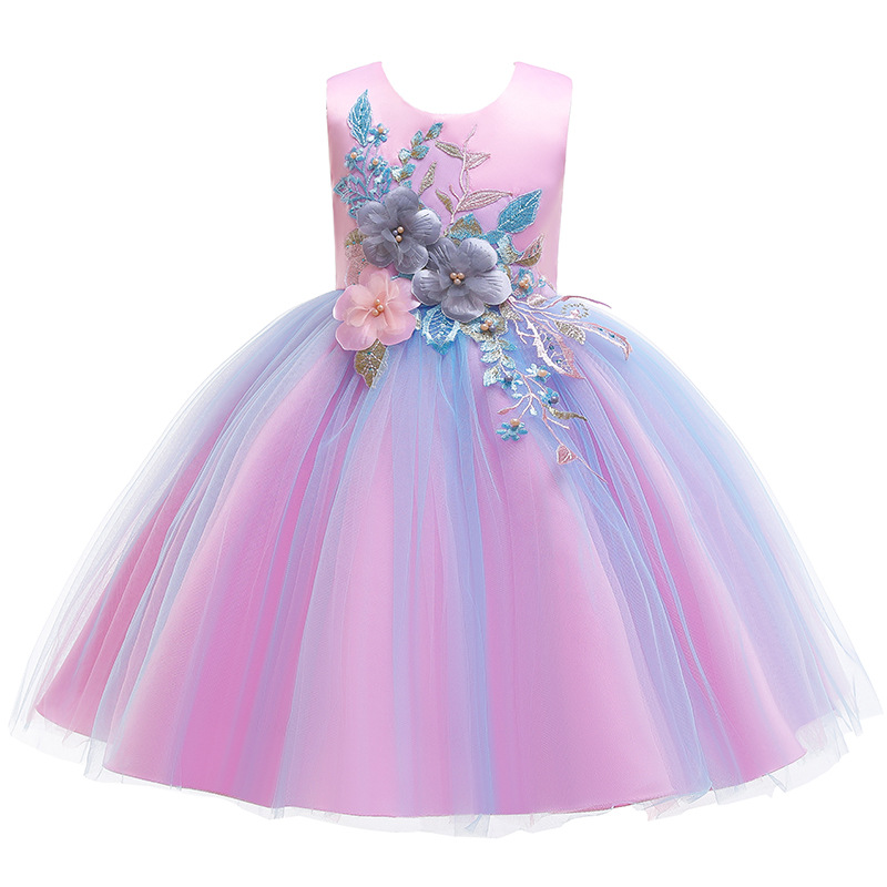 HTB193MeVSzqK1RjSZPcq6zTepXaA Girls Dress Christmas Elegant Princess Dress Kids Dresses For Girl Costume Children Wedding Party Dress 10 Year vestido infantil