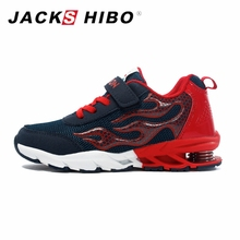 JACKSHIBO Anak-anak Musim Gugur Mode Sneakers Pelatih untuk Anak Laki-laki Anak-anak Sepatu Lari Musim Semi Tumit Gadis Sneakers untuk Anak-anak Musim Gugur Sepatu