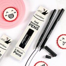 Chefmaster food color pen edible Glucose Cake Food Pigment Pen Black free shipping