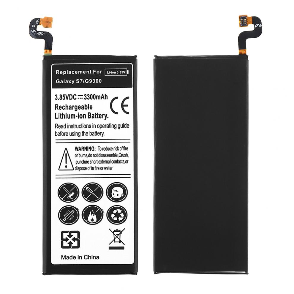 3.85V 3300mAh Rechargeable Built-in Li-ion Replacement Battery Phone Accumulator for Samsung GALAXY S7 G9300 G930F G930A G9308