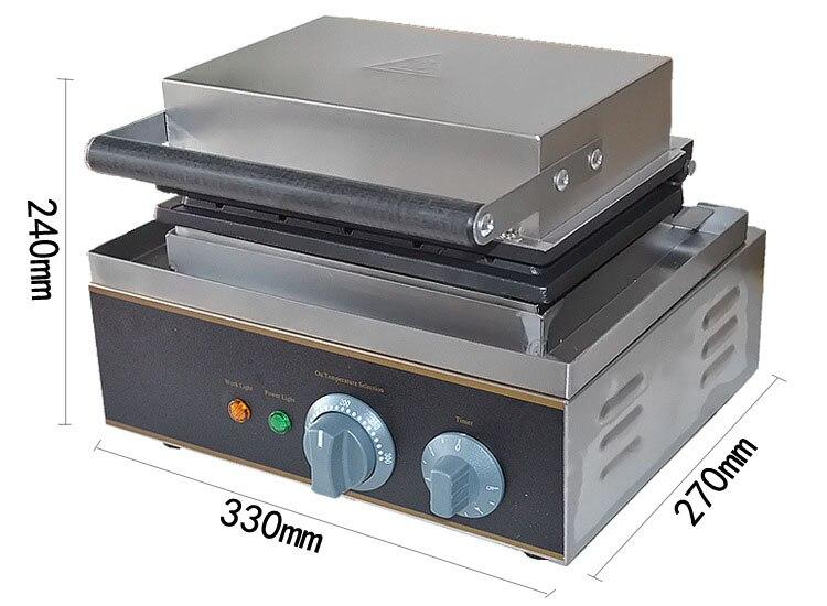 Jamielin Commercial 110V/220V Hot Dog Waffle Machine Lolly Hotdog Sausage Specs Hotdog Waffle Maker Use Electric