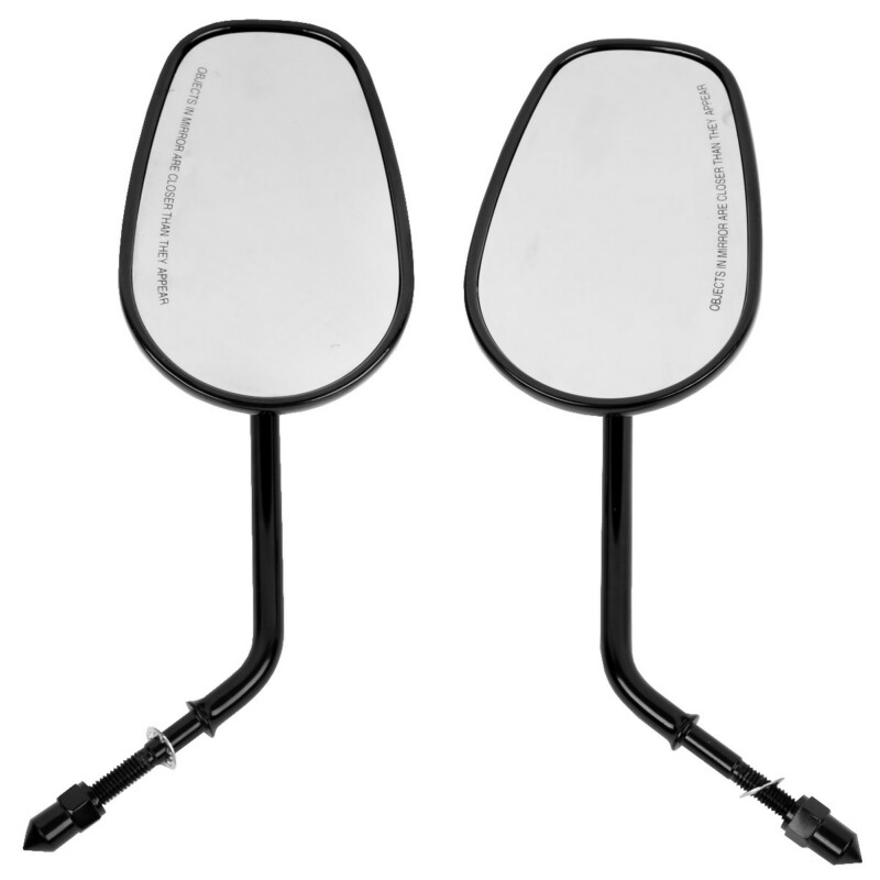 TCMT Rear Side Mirrors For Harley Road King Touring XL 883 SPORTSTER Road King Fatboy Softail Dyna Bobber Chopper Street Glide new free shipping skull flame chrome mirror for harley dyna softail sportster bobber chopper xl 883