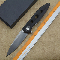 XS Radioactive High Quality Folding Knife 9CR18MOV Steel Blade G10 Handle Outdoor Camping Hunting Pocket Fruit