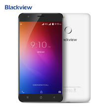 Blackview E7 4 Г Мобильный Телефон 5.5 дюймов IPS HD MTK6737 Quad ядро Android 6.0 1 ГБ RAM 16 ГБ ROM 8MP CAM Отпечатков Пальцев ID смартфон