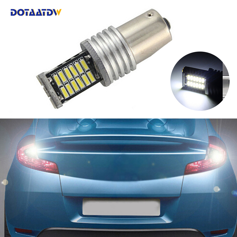 DOTAATDW 1x 1156 P21W High Power Canbus No Error Car LED <font><b>Rear</b></font> Reversing Tail Bulb For <font><b>Volvo</b></font> v50 v60 v70 xc90 xc60 <font><b>s80</b></font> s40 c30 image