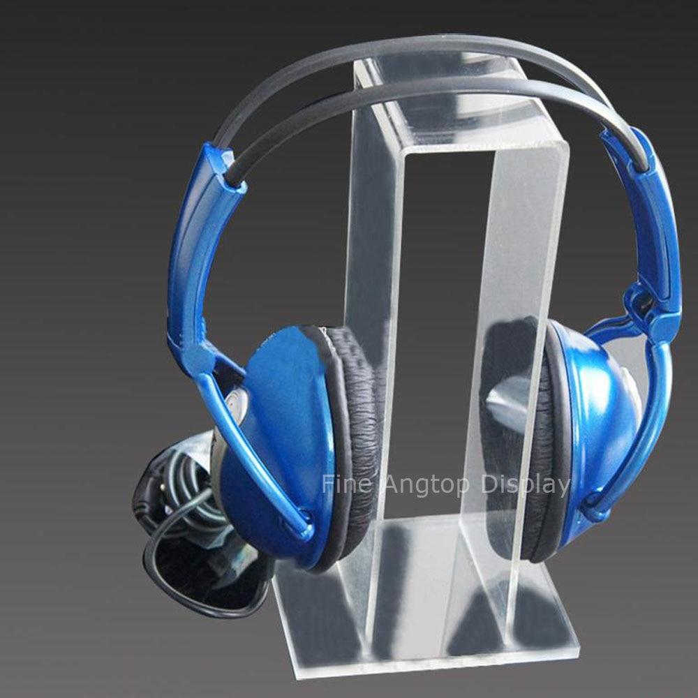 Acrylic Headphone Stand Display Jewelry Show Holder