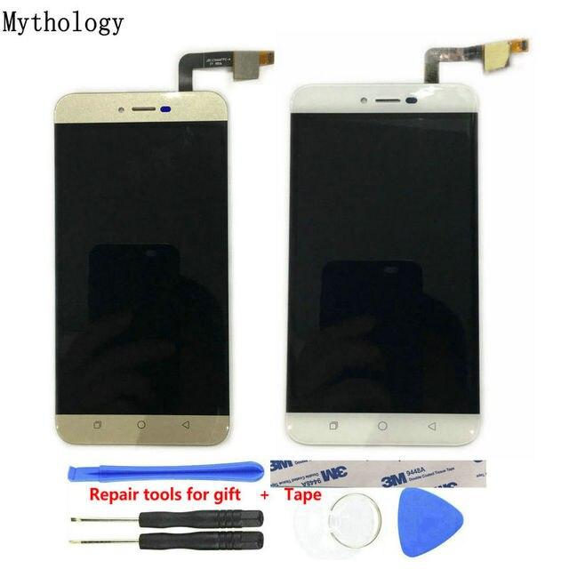 タッチパネル液晶 Coolpad トリノ R108 5.5 インチ携帯電話タッチスクリーンディスプレイゴールド色