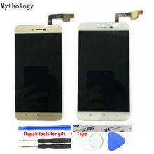Dokunmatik Panel LCD Coolpad Torino R108 5.5 inç cep telefonu dokunmatik ekran ekran altın rengi