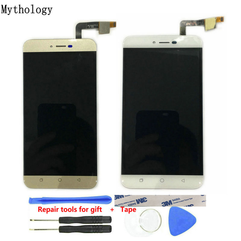 Mythologie Touch Panel LCD Für Coolpad Torino R108 5,5 Zoll Handy Touch Screen Display Gold Farbe