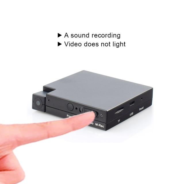 24 שעות הקלטת וידאו MD13 מיני DV לנטנה זיהוי תנועת מצלמה וידאו אודיו מקליט מיני מצלמת וידאו עם 2000mAh סוללה
