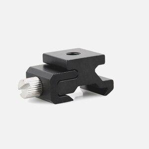 Image 2 - 10pcs/lot Camera Metal Cold Shoe Hot Shoe Flash Bracket Mount Adapter With 1/4 Tripod Screw To Light Stand Tripod
