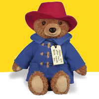 Peluche Paddington Bear Cotton Stuffed Gift Newest Movie 37 30cm Soft Plush Big Screen Paddington Bears