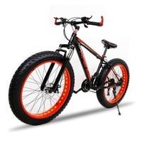 Aluminum Alloy Frame Road Bike 7 21 Speed 26 X 4 0 Snow Mountain Fat Bike