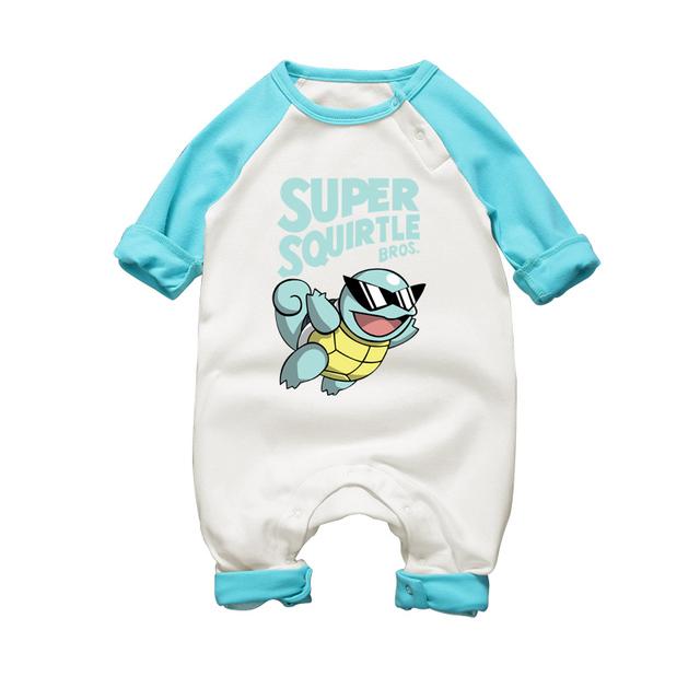 Pyjamas Bébé SUPER PIKA – Barboteuse Bébé À Manches Longues
