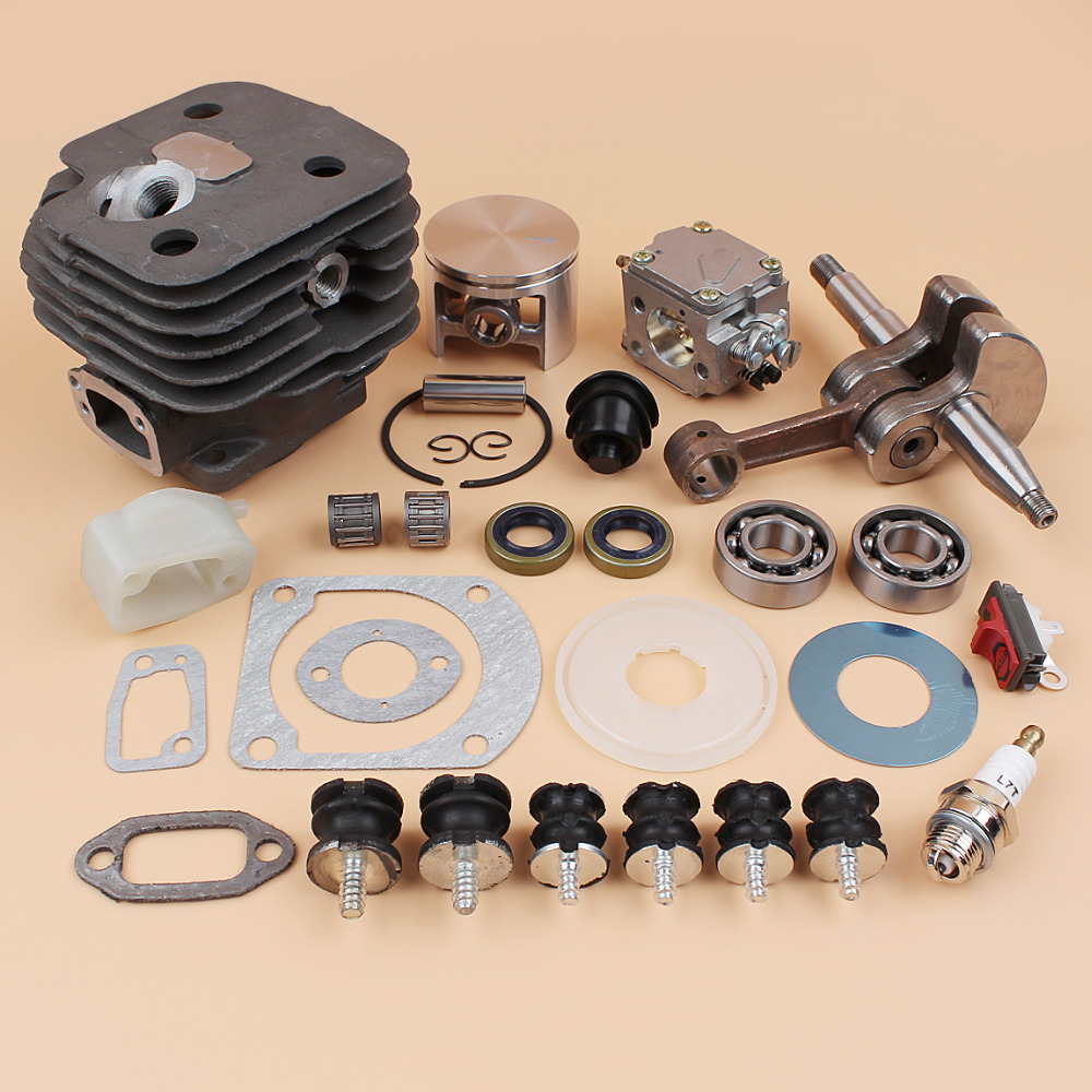 Buffer Spare 272XP 52MM Parts Mount Piston Carb Fit Isolater Chainsaws Cylinder HUSQVARNA Engine 272 Kit 268 61 Carburetor