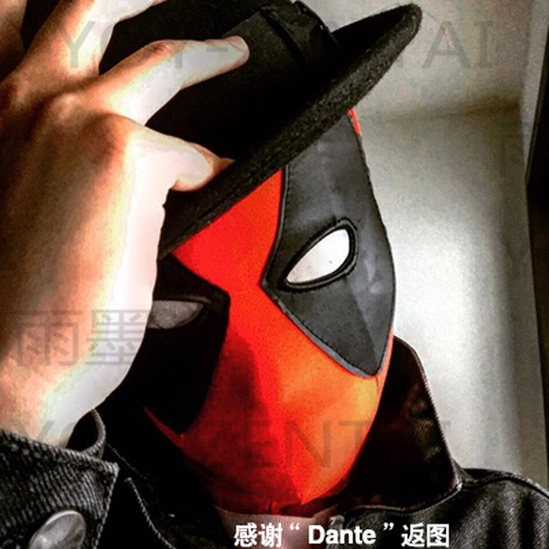 High Quality Comic Deadpool Mask Spandex Deadpool Mask