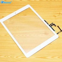 Netcosy For Ipad Air 5 Touch Glass Screen Digitizer Home Button Adhesive Assembly Replecement Parts For
