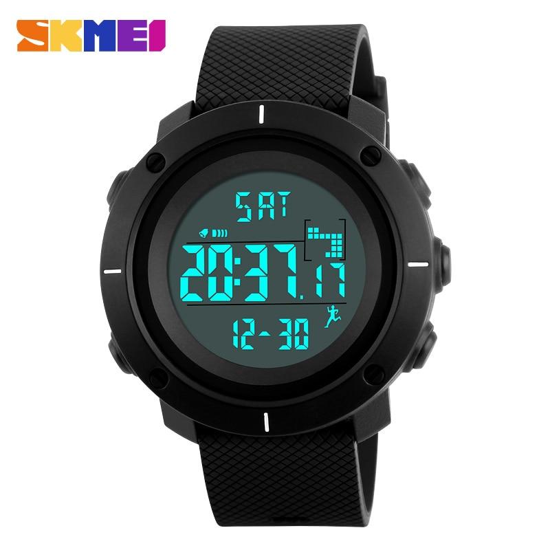 SKMEI Mode Heren Sport Horloges Digitale Man Klok Horloges Outdoor - Herenhorloges - Foto 1