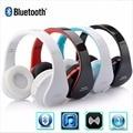 Conjunto de auriculares estéreo bluetooth headset auriculares inalámbricos auricular del auricular de audio para xiaomi iphone samsung juego plegable