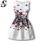 Save 4.96 on 2017 New Fashion Women Butterfly Print Summer Dress Vestidos Femininos Ukraine Ball Gown Tropical Elegant Casual Dress Vintage