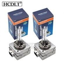 HCDLT Original D1S HID Xenon Bulb D3S Metal Base Car Headlight Replacement Bulb 35W 4300K 5000K