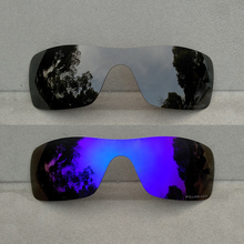 Black Purple Mirrored