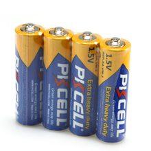 4 szt. Bateria PKCELL AA 1.5V R6P UM3 bardzo ciężki akumulator cynkowo-węglowy AA