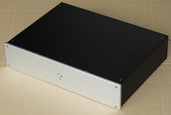 DIY 312*425*90MM Aluminum amplifier chassis/Using for making tube amplifer or amplifier case