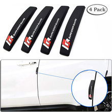 4 Pack Car Door Guard Bar Rubber Anti Collision Bar Anti Friction Against Collision Scratch 3 Colors CB002 realistic rubber cockroaches 3 pack