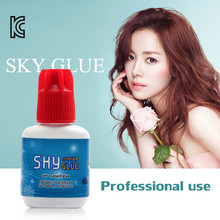 NEWCOME Sky Glue Lady Black for Eyelash Extension Fast Drying,Lady Adhesive,Eyelash Remover Primer Professional