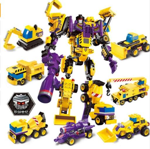 E Model Transformer Robot Models Building Kits Blocks Toys Hobby Hobbies For Boys Girls Compatible lepin цена